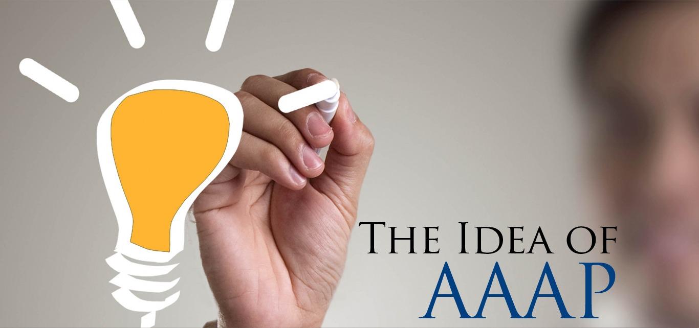 IDEA of aap banner